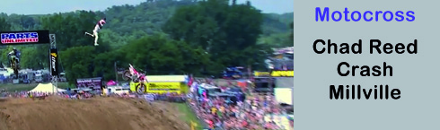 Chad Reed Crash Millville