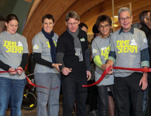 Indoor Bikepark Pfäffikon Eröffnungsfeier 2014